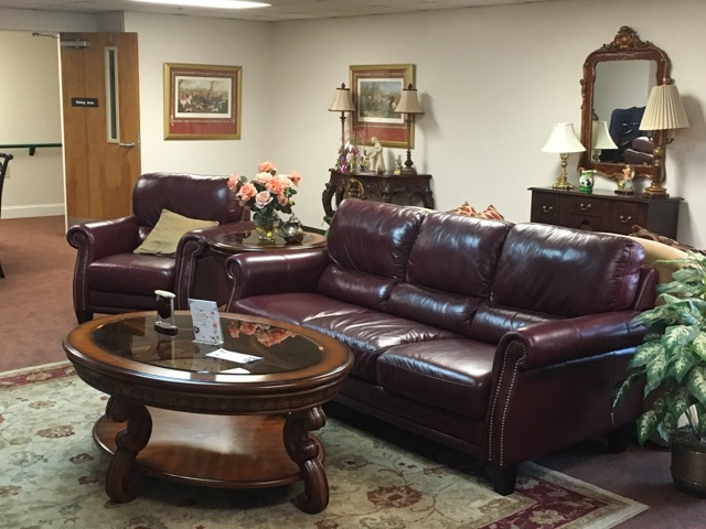 Community room and couches