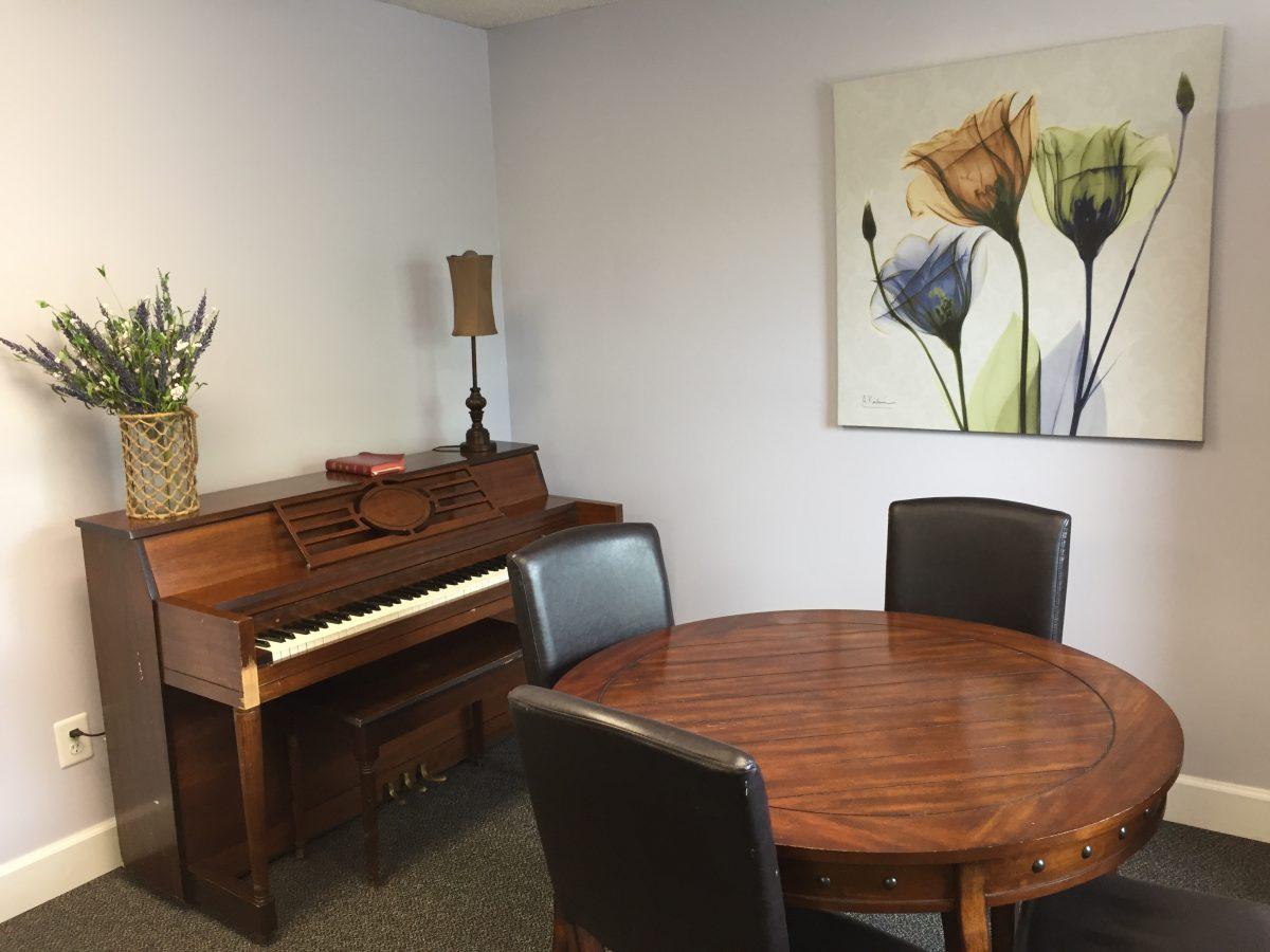 camelia community room piano