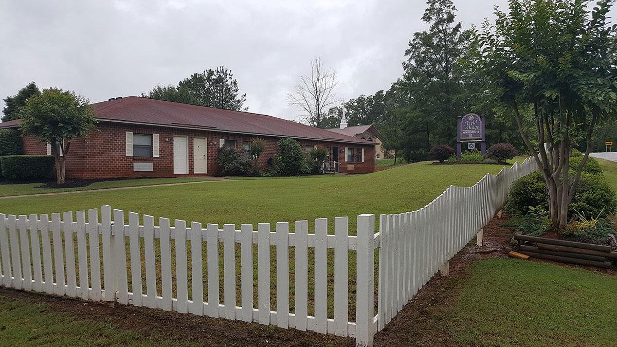field village building