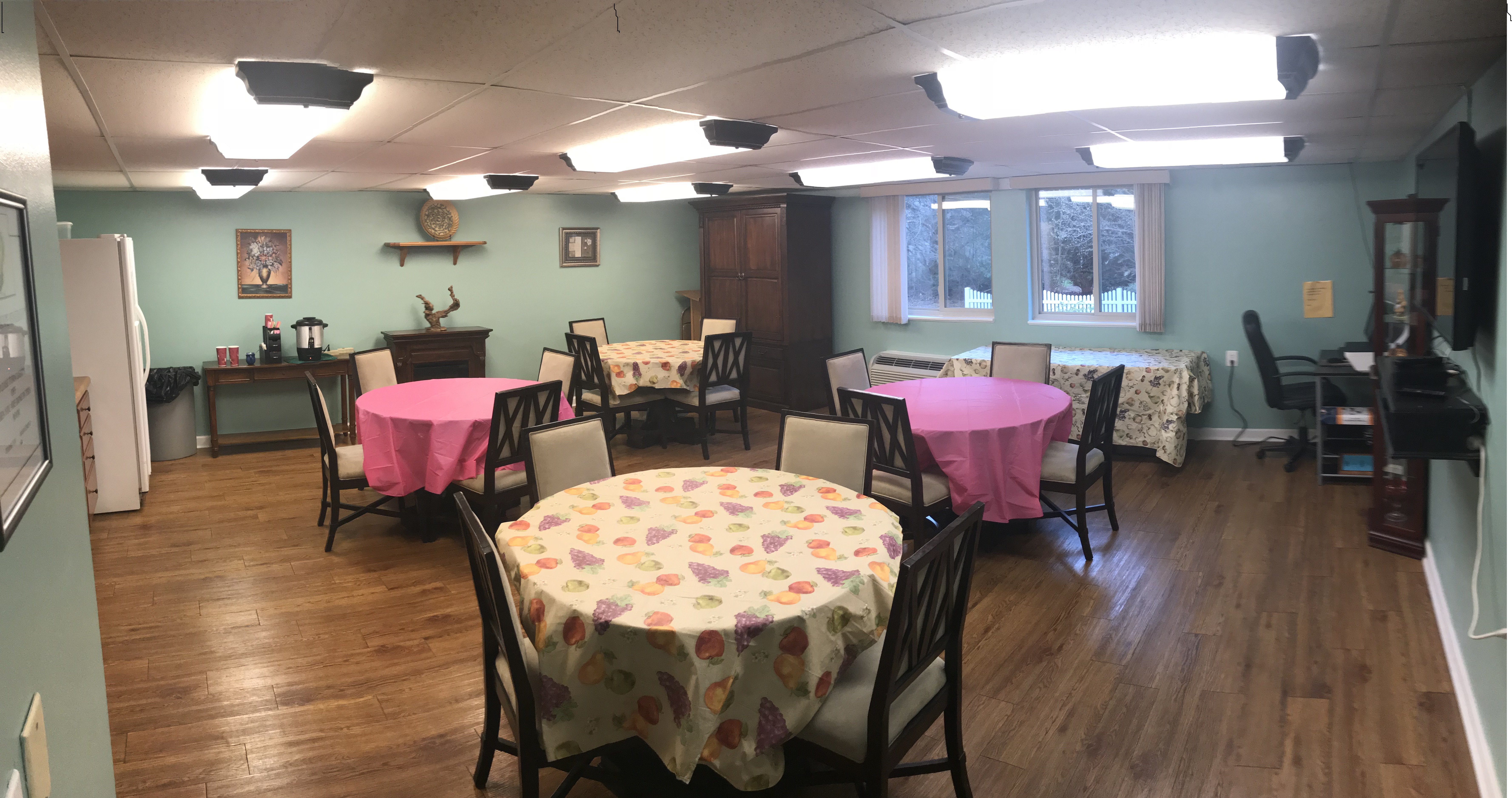 Huntwood community room