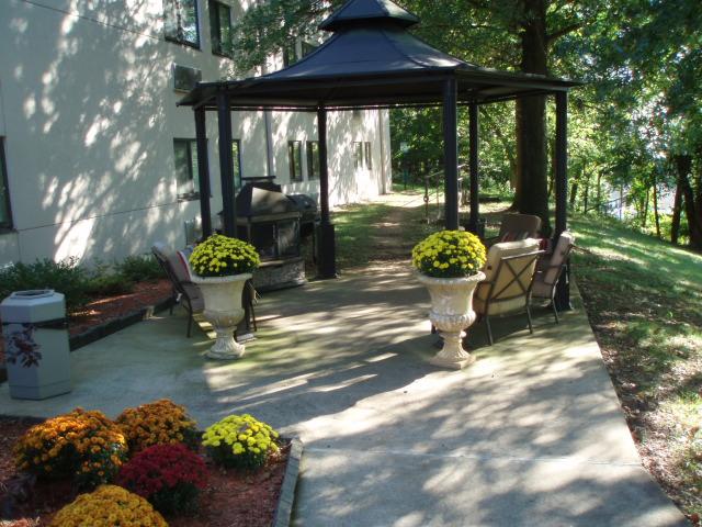 Hillview terrace gazebo