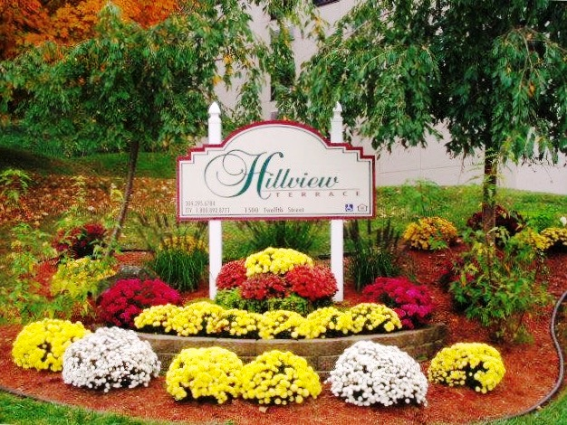 Hillview terrace sign