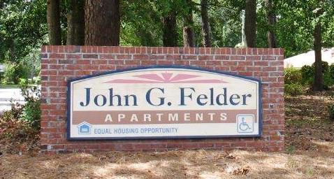 John G Felder Sign