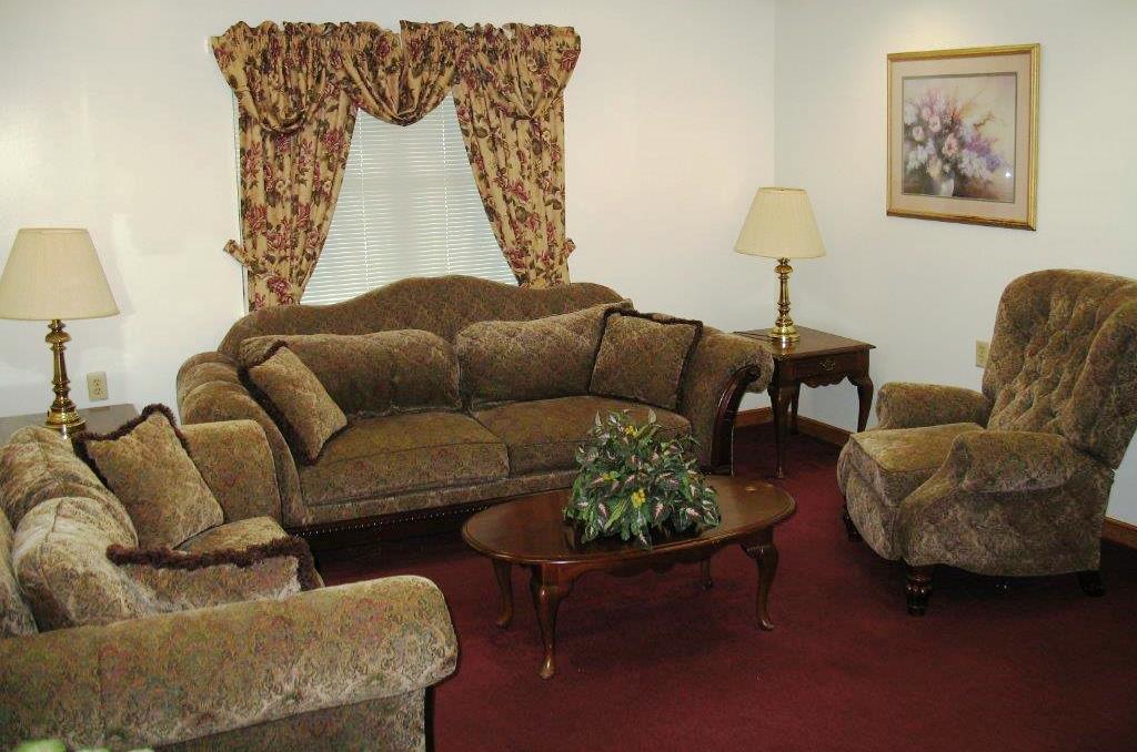 John G Felder sitting room