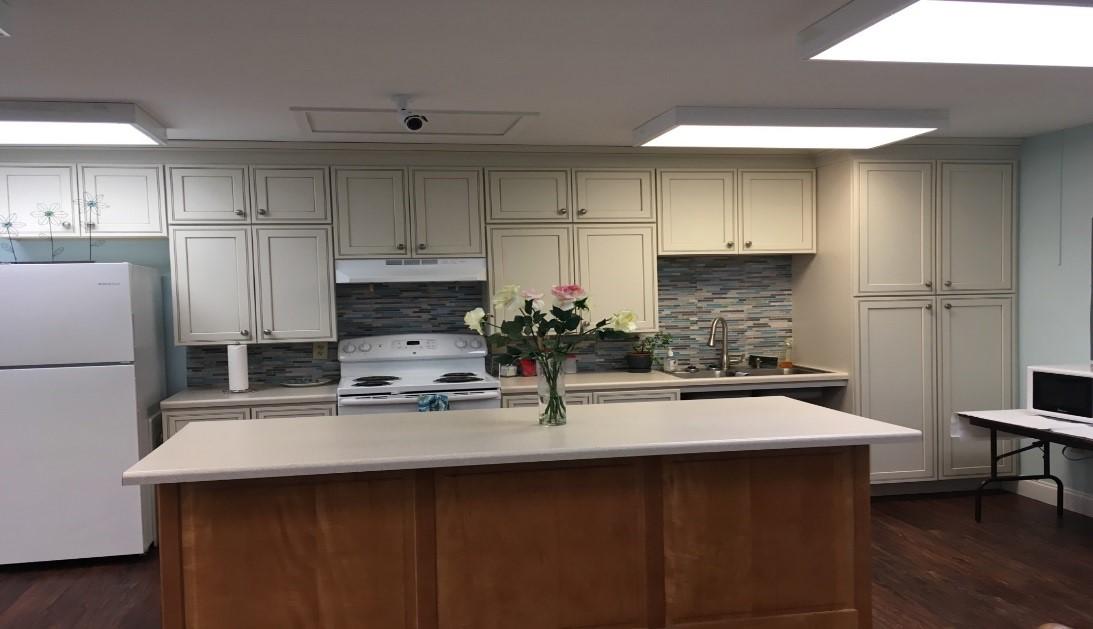 lighthouse manor community room kitchen
