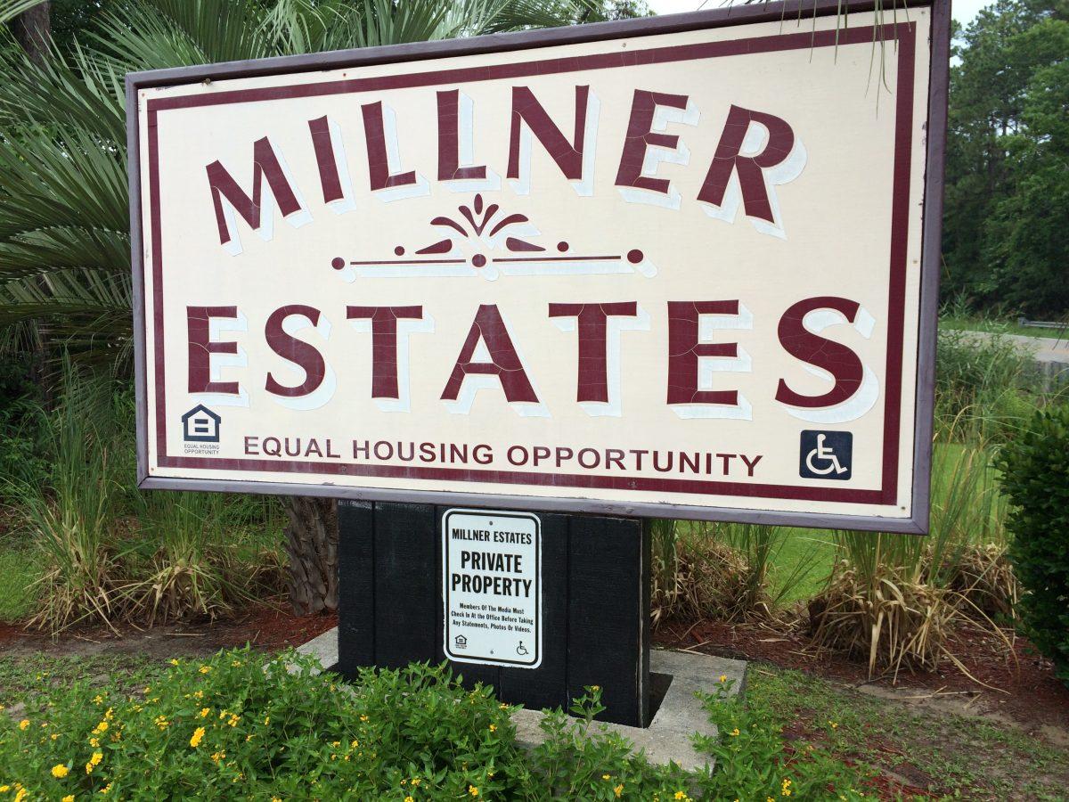 millner estates sign