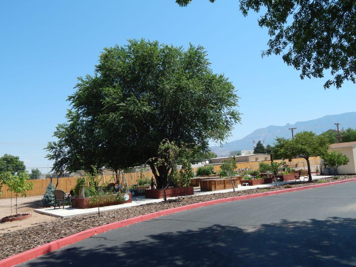 ranchitos village garden view