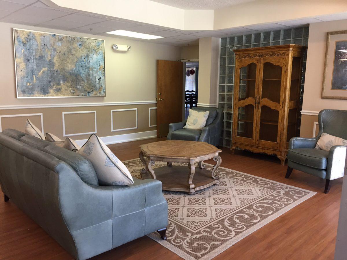 west oaks lobby