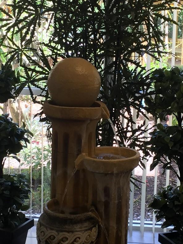 gardenia gardens lobby fountain