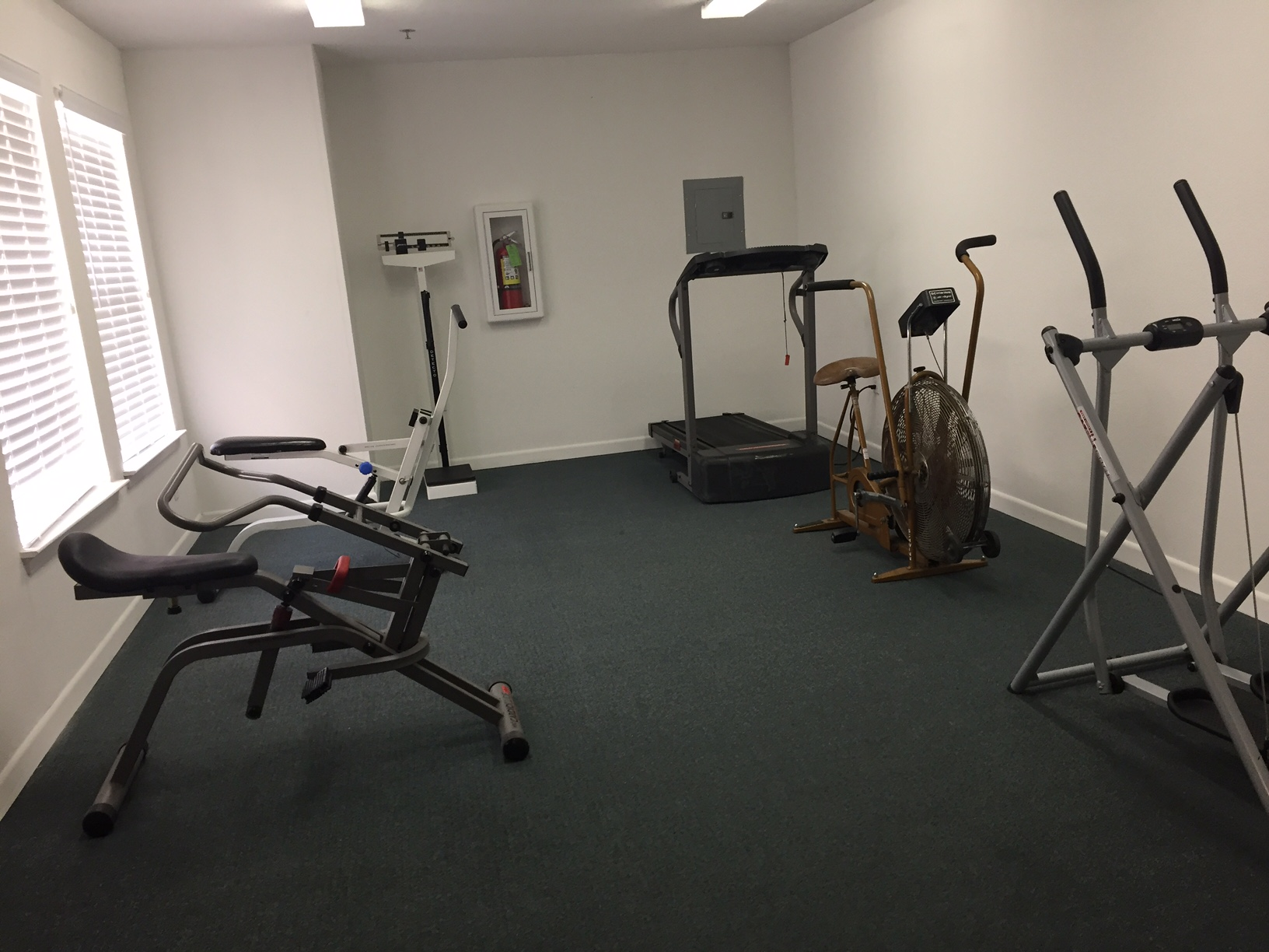 west oaks exercise room