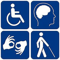 Universal disability logo
